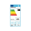 Whirlpool BTNF5323OX A+++ NoFrost alulfagyasztós hűtőszekrény