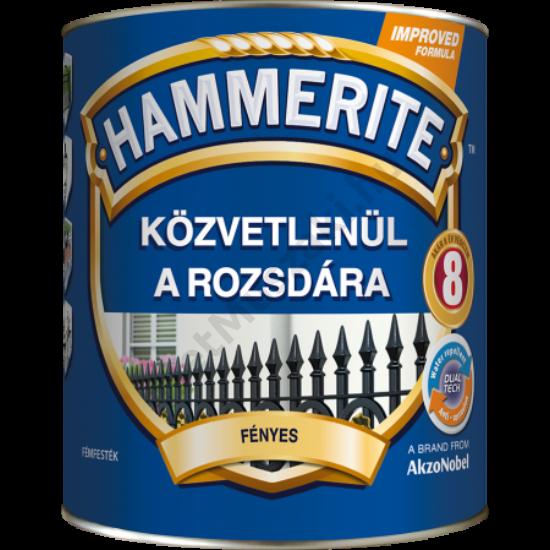 Hammerite Fényes Fekete 2,5l