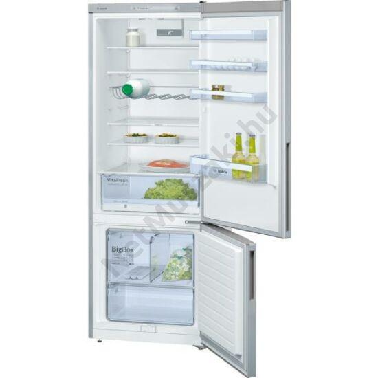 Bosch KGV58VL31S alulfagyasztós hűtőszekrény  5ÉV GAR.