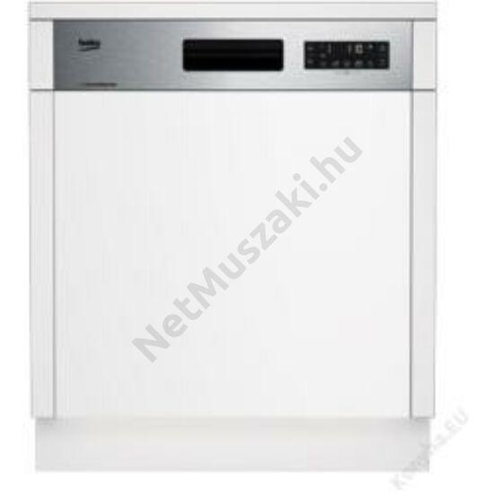 Beko DSN28430X beépíthető mosogatógép 5év garancia