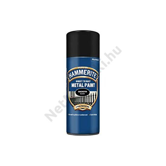 Hammerite Spray Fényes fekete 400ml