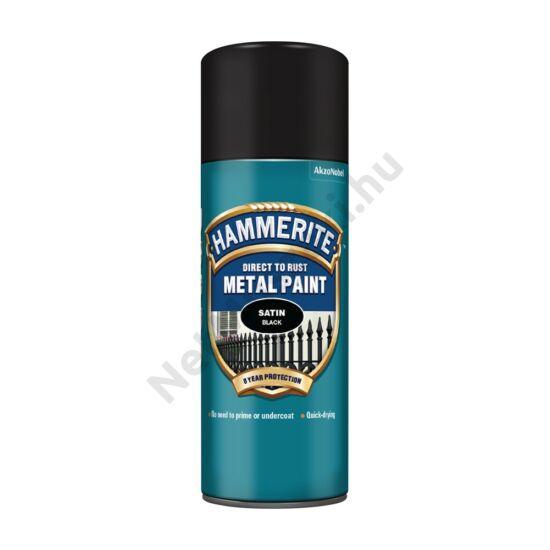 Hammerite Spray Selyemfényű fekete 400ml