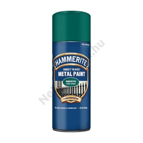 Hammerite Spray Fényes sötétzöld 400ml