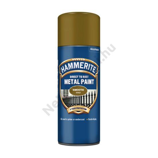 Hammerite Spray Fényes arany 400ml