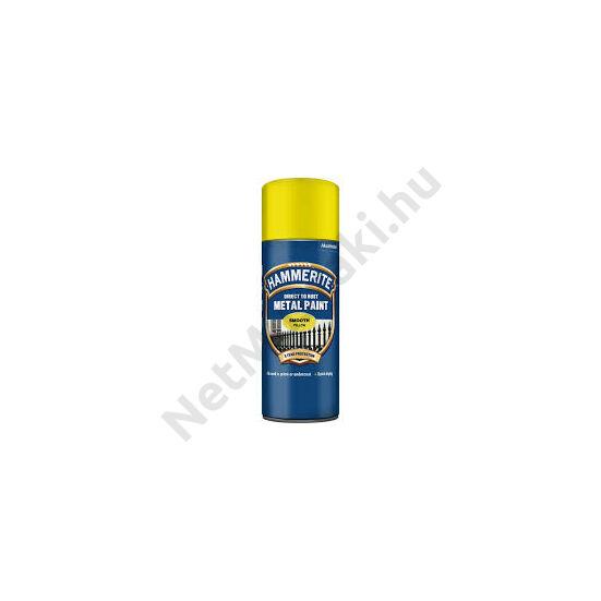 Hammerite Spray Fényes sárga 400ml