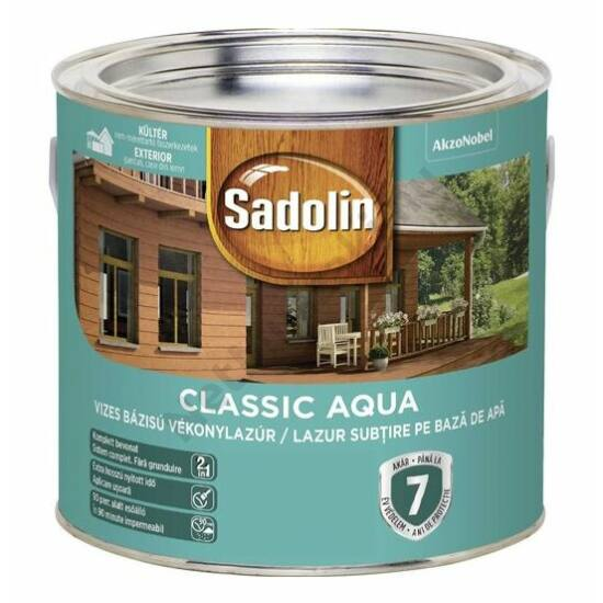 Sadolin Classic Aqua világostölgy 2.5 L