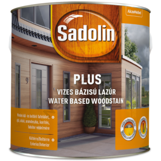 Sadolin Plus dió 2,5l