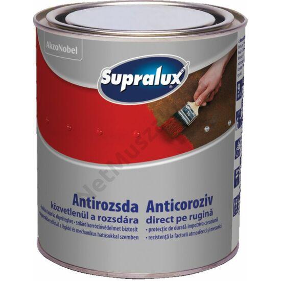 Supralux Antirozsda fekete RAL 9005 2,5l