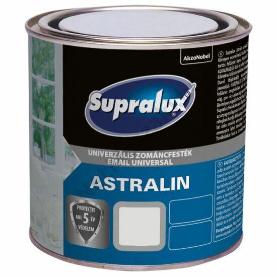 Supralux Astralin Univerzális zománcfesték MATT fekete 1l