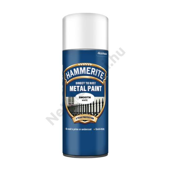 Hammerite Spray Fényes fehér 400ml