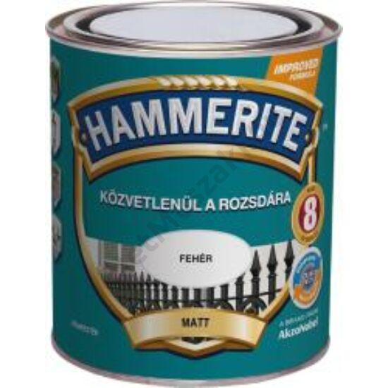 Hammerite Matt Fehér 0,25l