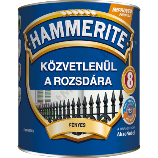 Hammerite Fényes Sötétzöld 0,25l