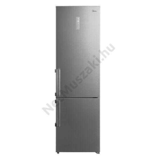 Midea HD-468RWE2N X Kombinált Hűtőszekrény, 5 év garancia