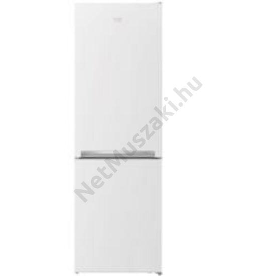 BEKO RCNA-366I40 WN alulfagyasztós hűtőszekrény. 5 ÉV GAR.