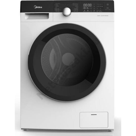 MIDEA MFK80-U1401B Elöltöltős mosógép 8kg 1400rpm